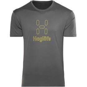 Haglöfs Glee - T-shirt manches courtes Homme - jaune/gris